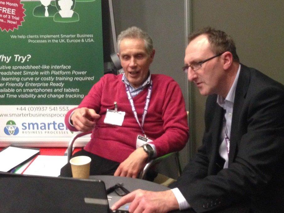 Smarter Business Processes Smartsheet Launch at Venturefest
