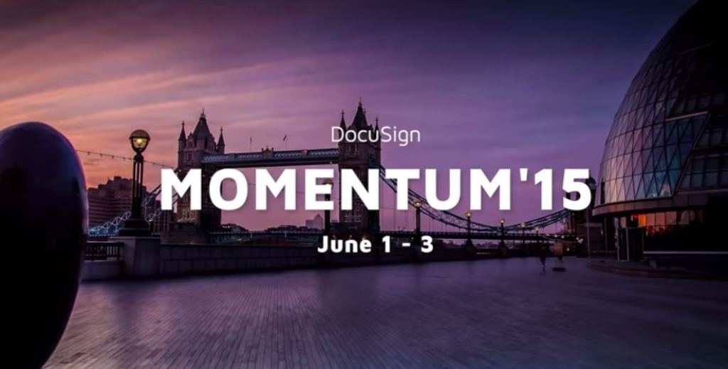 Join us at DocuSign Momentum 15 and Accelerate your Digital Transformation