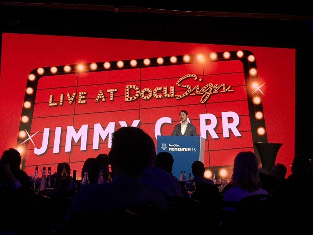 Impressive DocuSign Momentum '15 London Event