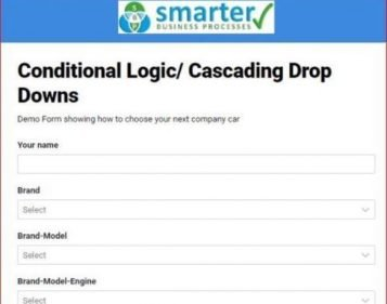 Conditional Logic on Smartsheet Forms
